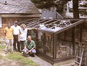 glass garden builders
